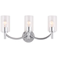 Eglo 203748A Devora 3 Light 22 inch Chrome Bath Vanity Wall Light