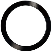 Eglo 203766 Trago 9 Black Chrome Magnetic Trim, for Trago 9 Flush Mount 203646A