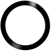 Eglo 203899 Trago 5 Black Chrome Magnetic Trim for Trago 5 Flush Mount 203674A