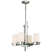 Eglo 203974A Vlacker 4 Light 19 inch Chrome Chandelier Ceiling Light