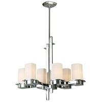 Eglo 203976A Vlacker 6 Light 26 inch Chrome Chandelier Ceiling Light