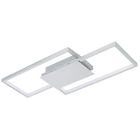 Eglo 204049A Milanius LED 9 inch Flush Mount Ceiling Light, Wall Mountable
