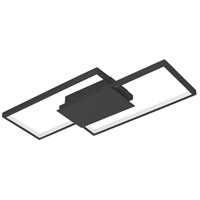 Eglo 204052A Milanius LED 9 inch Flush Mount Ceiling Light, Wall Mountable