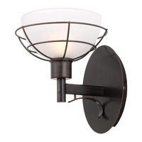 Eglo Rovigo 1 Light Wall Light in Oil Rubbed Bronze 20447A