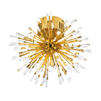 Eglo 31512A Vivaldo 16 Light 19 inch Gold Plated Pendant Ceiling Light