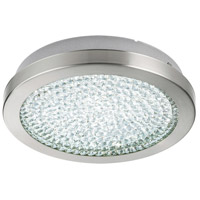 Eglo 32046A Arezzo 2 LED 11 inch Matte Nickel Flush Mount Ceiling Light photo thumbnail