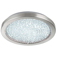 Eglo 32047A Arezzo 2 LED 14 inch Matte Nickel Flush Mount Ceiling Light