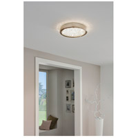 Eglo 32047A Arezzo 2 LED 14 inch Matte Nickel Flush Mount Ceiling Light alternative photo thumbnail