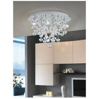 Eglo 39245A Pianopoli LED 20 inch Chrome Flush Mount Ceiling Light alternative photo thumbnail