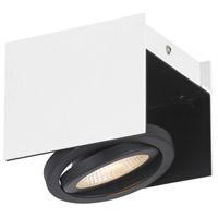 Eglo 39315A Vidago 1 Light 120V Black and White Track Light Ceiling Light