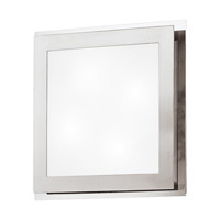 Eglo 82218A Eos 4 Light 15 inch Matte Nickel & Chrome Wall Light