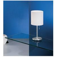 Eglo 82811a Sendo 14 Inch 60 Watt Aluminum Table Lamp Portable Light Alternative Photo Thumbnail