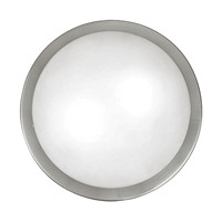 Planet 2 Light 15 inch Matte Nickel Wall Light