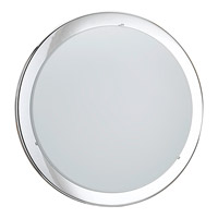 Eglo Planet 2 Light Wall Light in Chrome 82944A
