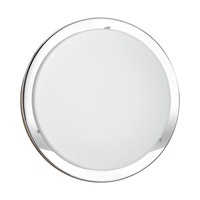 Eglo Planet 1 Light Wall Light in Chrome 82945A