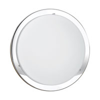 Eglo 82945A Planet 1 Light 12 inch Chrome Wall Light alternative photo thumbnail