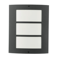 Eglo 83217A City 1 Light 11 inch Antracite Outdoor Wall Light