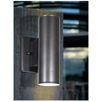 Eglo 84003A Riga 2 Light 7 inch Anthracite Outdoor Wall Light alternative photo thumbnail