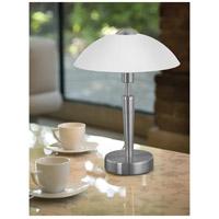 Gentil Eglo 85104A Solo 14 Inch 60 Watt Matte Nickel Table Lamp Portable Light  Alternative Photo Thumbnail