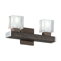 Eglo Tenno 2 Light Wall Sconce in Antique Brown 85135A photo thumbnail