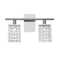Eglo Lighting Pyton 2 Light Wall Light in Chrome 85332A
