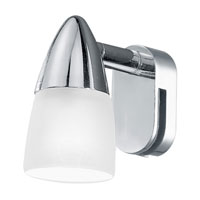 Eglo Sticker 1 Light Wall Light in Chrome 85828A