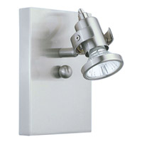 Eglo Lighting Tukon 1 Light Wall Spot in Matte Nickel 86016A