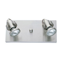 Tukon Matte Nickel 50 watt 2 Light Spot Light