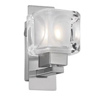 Eglo Lighting Tanga 1 Light Wall Light in Matte Nickel 86568A