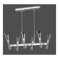 Forio 6 Light 24 inch Chrome Island Light Ceiling Light