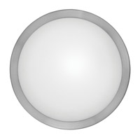 Arezzo 1 Light 11 inch Matte Nickel Wall Light