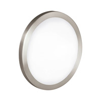Eglo Lighting Arezzo 1 Light Wall Light in Matte Nickel 87329A