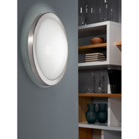 Eglo 87329A Arezzo 1 Light 14 inch Matte Nickel Wall Light alternative photo thumbnail