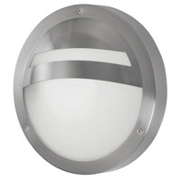 Eglo Lighting Sevilla 1 Light Outdoor Wall Light in Stainless Steel 88109A