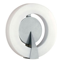 Eglo Roi 1 Light Outdoor Wall Light in Silver 88155A