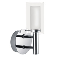 Palermo 1 Light 5 inch Chrome Wall Light