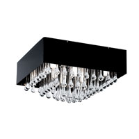 Eglo Lighting Camini 8 Light Ceiling Light in Aluminum 88201A