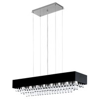 Eglo Lighting Camini 8 Light Chandelier in Aluminum 88203A