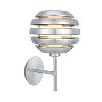 Eglo Mercur 1 Light Wall Light in Brushed Aluminum 88296A