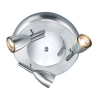 Eglo Halva 1 3 Light Track Light in Chrome 88364A