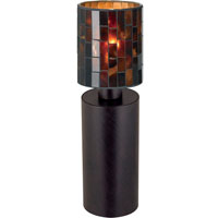 Eglo Troya 1 Light Table Lamp in Antique Brown 88827A