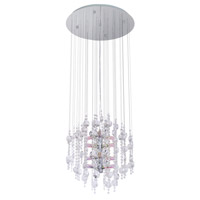 Eglo 89005A Alexandria 12 Light 20 inch Chrome Chandelier Ceiling Light