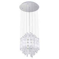 Eglo Lighting Alexandria 12 Light Chandelier in Chrome 89006A