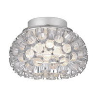 Eglo Rebell 1 Light Ceiling Light in Aluminum 89065A