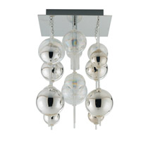 Eglo Morfeo 1 Light Wall Light in Chrome 89157A