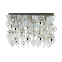 Eglo Lighting Morfeo 9 Light Wall Light in Chrome 89159A