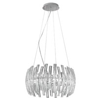 Eglo Lighting Drifter 9 Light Pendant in Chrome 89203A