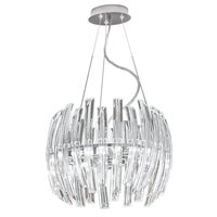 Eglo Lighting Drifter 6 Light Chandelier in Chrome 89205A photo thumbnail