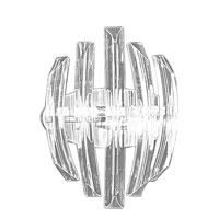 Eglo Lighting Drifter 2 Light Wall Light in Chrome 89206A
