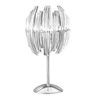 Eglo Lighting Drifter 2 Light Table Lamp in Chrome 89207A